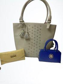 New fancy combo women handbags