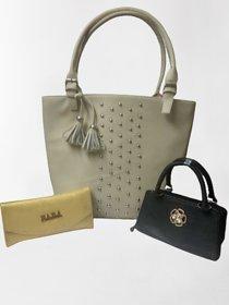 Fancy combo women handbags
