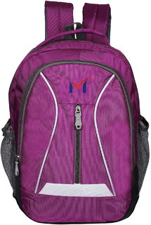 SMS BAG HOUSE Polyester Waterproof Laptop/ College Bag - Pink