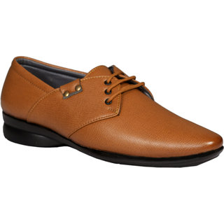 Men's Genuine Leather Tan Formal Shoes