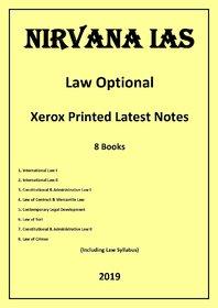 Nirvana IAS Law Optional Latest Xerox Printed Notes