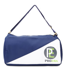 Proera Unisex Blue & White 20 Litres Black  Duffel/Gym/ Travelling Bag