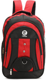 Proera Red 30 Ltrs Waterproof Polyester School/College & Office Bag (Unisex)