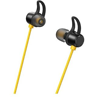 Wired Earphones with 10mm Driver, in-line HD Microphone (Black) by S4 Seller Hub