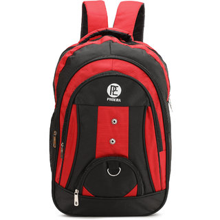 Proera Red 30 Ltrs Waterproof Polyester School/College & Office Bag (Unisex)