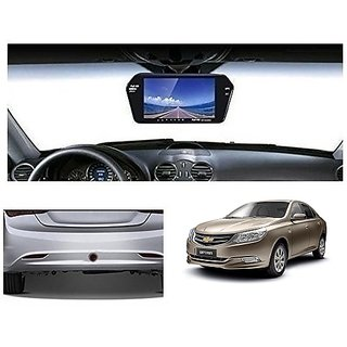 After Cars 7 Inch Full HD Bluetooth Back Mirror Monitor Screen without Camera for Optra New Car
