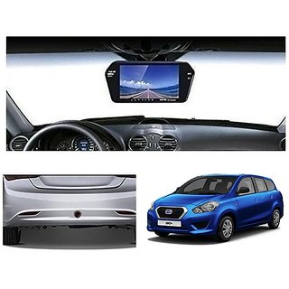 After Cars 7 Inch Full HD Bluetooth Back Mirror Monitor Screen without Camera for Go Plus Car