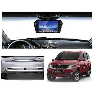 After Cars 7 Inch Full HD Bluetooth Back Mirror Monitor Screen without Camera for Xylo Car