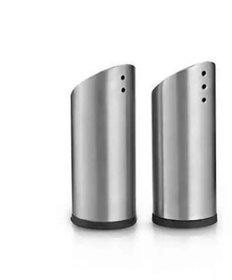 Flair Stainless Steel Salt And Pepper Shaker LipStick Model 2pcs