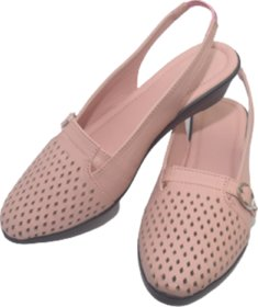 Bellies Flat Shoe In Pink For Womangirl