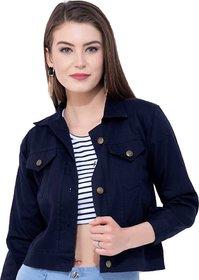 preserve Navy Blue Denim Jacket