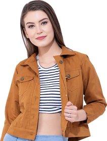 preserve Tan Yellow Denim Jacket