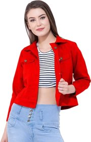 preserve Red Denim Jacket