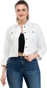 preserve White Denim Jacket