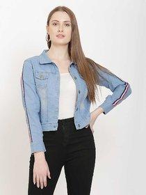 preserve Light Blue Ribbon Denim Jacket
