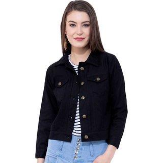 preserve Black Denim Jacket