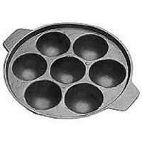 Non Stick Aluminium 7 Cavity Cookware Appam Patra Maker