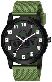 Army Dial Military Special Design Analog Watch - For Men