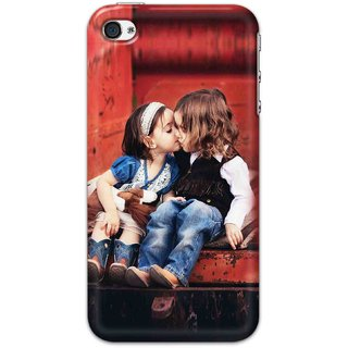 Digimate Hard Matte Printed Designer Cover Case For iPhone 4 - 0068