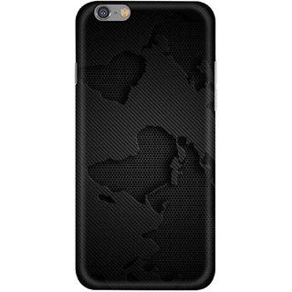 Digimate Hard Matte Printed Designer Cover Case For Iphone 6 - 0965