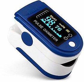 zarks blue color fingertip pulse oximeter