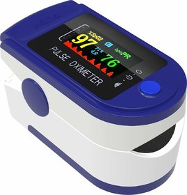 Body Safe  Wellness Fingertip OLED Type Pulse Oximeter measures Oxygen Saturation, Pulse Rate (SpO2)  Perfusion Index
