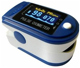 Aiqura Fingertip Pulse Oximeter With Heart Rate Monitor