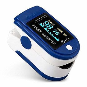 Body Safe  Fingertip Pulse Oximeter - SPO2, Heart Rate  Pulse Rate Health Monitor