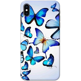 Digimate Hard Matte Printed Designer Cover Case For Iphone XS - 0539