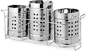 3pcs spoon holder Stainless Steel Cutlery Set(Pack of 4)