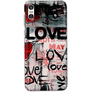 Digimate Hard Matte Printed Designer Cover Case For Motorola One