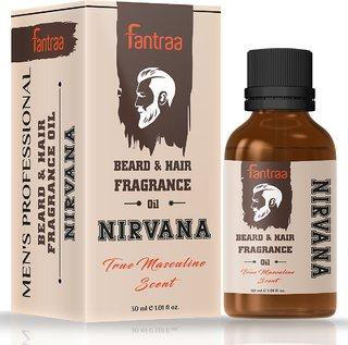 Fantraa Beard and Hair Fragrance Oil - 30 ml (Nirvana)