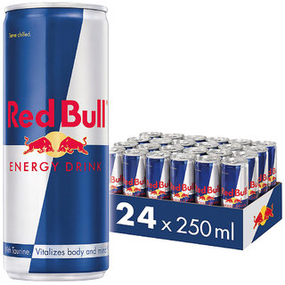 Red Bull Energy Drink, 250 ml (24 Pack)