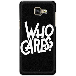 Digimate Hard Matte Printed Designer Cover Case For Samsung Galaxy A5 2016