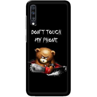 Digimate Hard Matte Printed Designer Cover Case For Samsung Galaxy A70