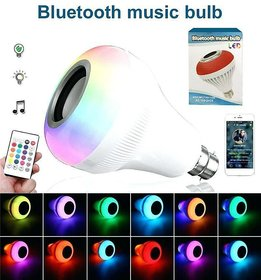 M Mapon Bluetooth Bulb With 12 Colorful Led