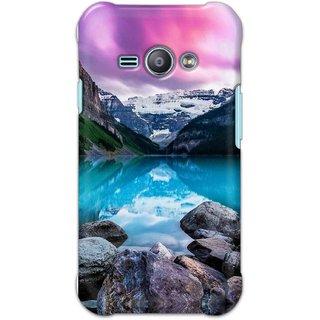 Digimate Hard Matte Printed Designer Cover Case For Samsung Galaxy J1 Ace