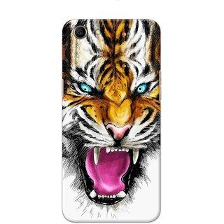 Digimate Hard Matte Printed Designer Cover Case For Oppo A83 - 0028