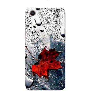 Digimate Hard Matte Printed Designer Cover Case For Oppo A83 - 0339