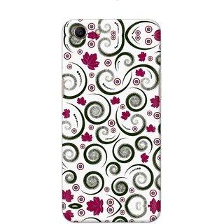 Digimate Hard Matte Printed Designer Cover Case For Oppo A83 - 0694