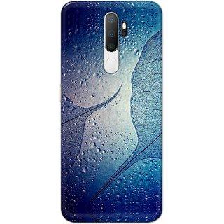 Digimate Hard Matte Printed Designer Cover Case For Oppo A9 (2020) - 0956