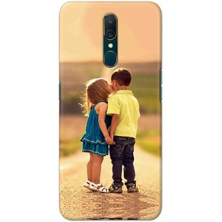 Digimate Hard Matte Printed Designer Cover Case For Oppo A9 - 0315