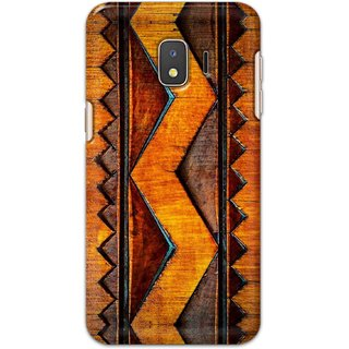 Digimate Hard Matte Printed Designer Cover Case For Samsung Galaxy J2 Core