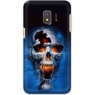 Digimate Hard Matte Printed Designer Cover Case For Samsung Galaxy J2 Core
