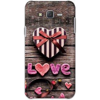 Digimate Hard Matte Printed Designer Cover Case For Samsung Galaxy J5