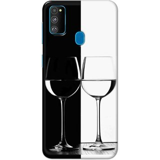Digimate Hard Matte Printed Designer Cover Case For Samsung Galaxy M30s