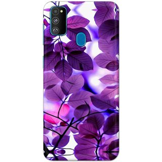 Digimate Hard Matte Printed Designer Cover Case For Samsung Galaxy M30s