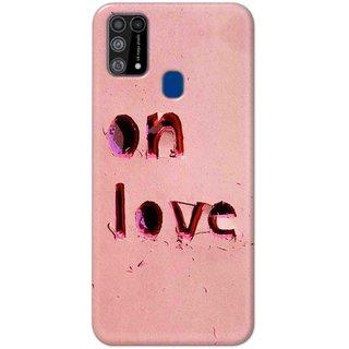 Digimate Hard Matte Printed Designer Cover Case For Samsung Galaxy M31