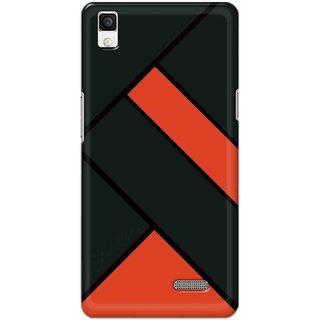Digimate Hard Matte Printed Designer Cover Case For Oppo R7 - 0392