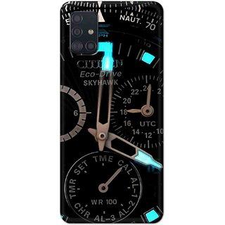 Digimate Hard Matte Printed Designer Cover Case For Samsung Galaxy M31s